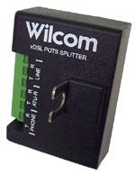 NID-mount VDSL2 POTS Splitter